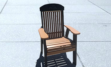 Order a Tribute Chair